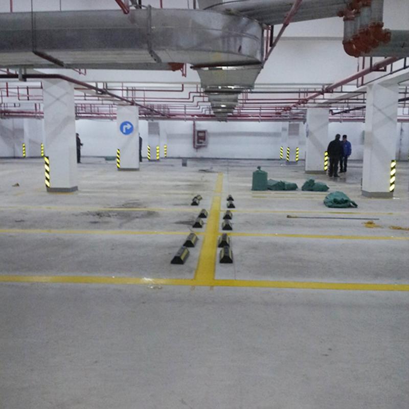 大学城翰城广场车库施工工程